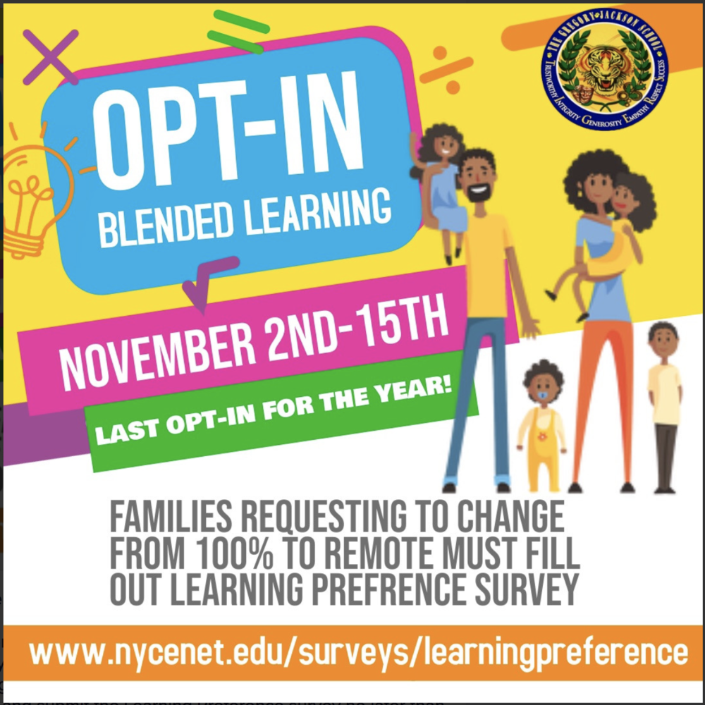 Opt-In Blended Learning