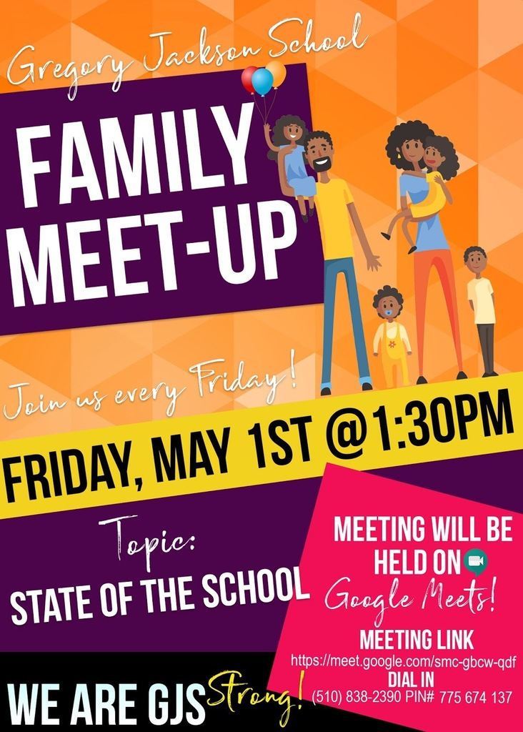 GJS Family Meet Up Flyer