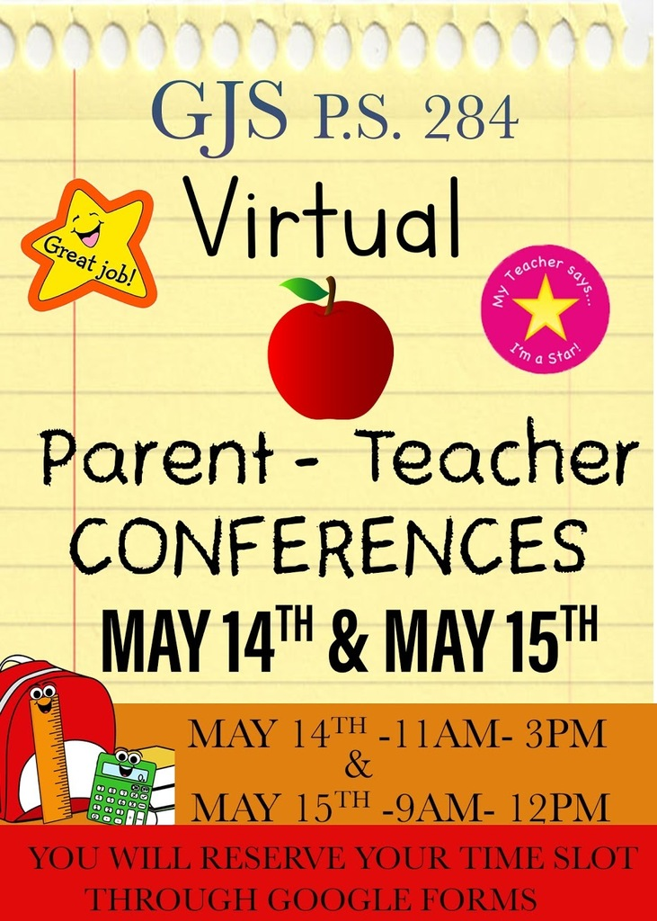 Virtual Parent Teacher Conference Flyer